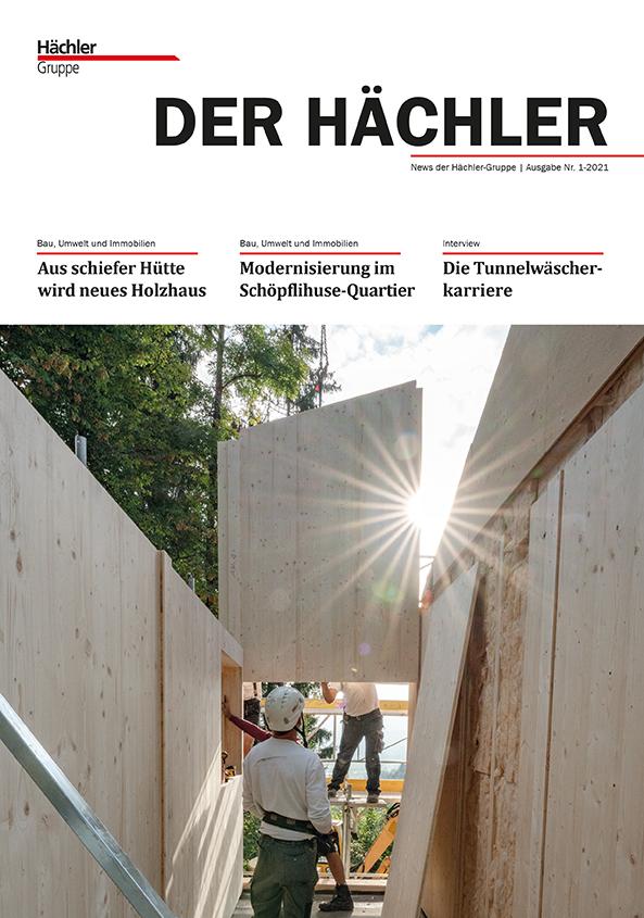 Firmenzeitung_Der Haechler_1_2021_Titelbild